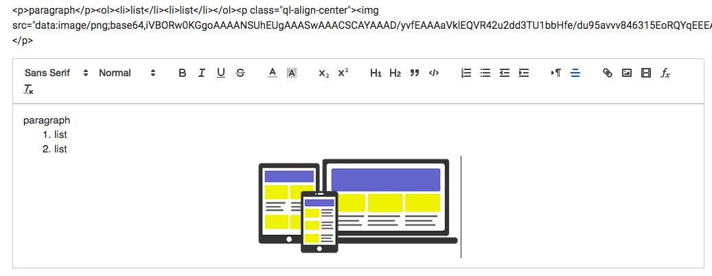 แนะนำ ng-quill สำหรับทำ Text Editor แบบ wysiwyg บน AngularJS